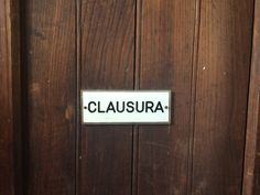 Clausura_Roma 2015