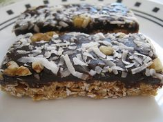 Coconut Almond Granola Bars | 3rd Story Bake Shop