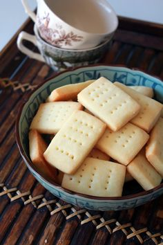 Simple Shortbread Cookie - versatile can be used for ice cream sandwiches, pies and tarts - can be frozen ahead of time