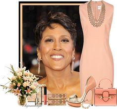 """Robin Roberts"" by arjanadesign on Polyvore"
