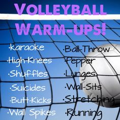 Volleyball Warm-Ups my team and I do every practice!❤️ Volleyball Warm-Ups my team and I do every practice! Volleyball Warm Ups, Volleyball Skills, Volleyball Practice, Volleyball Training, Volleyball Workouts, Basketball Skills, Volleyball Quotes, Coaching Volleyball, Girls Basketball