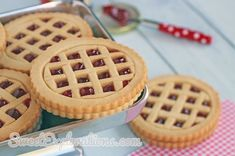 Lattice Pie Cookies
