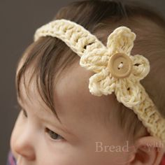 One of the simplest and fastest crochet headband's you can make! With separate detachable flowers! :-)