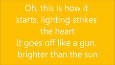 Colbie Caillat - Brighter Than The Sun - Lyrics in full HD