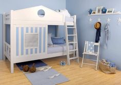 Colombini kidsroom / beach house double bed - design Raquel Pedrali