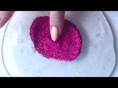 Glitter Slime Mixing  - Most Satisfying Slime ASMR Video! - YouTube