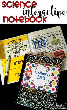 Supplies For Interactive Notebook Kinderactive Series Part 2