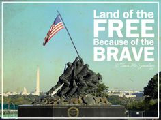 Land Of The Free Because Of The Brave 4th of july happy 4th of july 4th of july quotes happy fourth of july happy independence day land of the free home of the brave july 4th quote