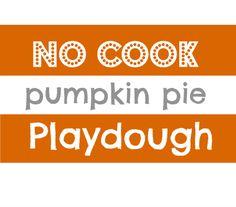 The best pumpkin pie playdough recipe!