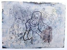 CompArte cada día: Aristides Santana - CanariasArte  //S/T //  Dibujo //  Serie: Ukiyo-e