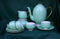 apparently it's actually a coffee set, but we'll call it tea