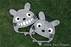 Totoro beanie crochet pattern free on ravelry