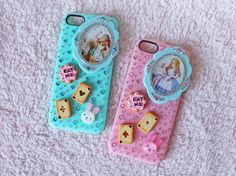 Alice In Wonderland Decoden Bling iPhone 5 Case by CandyOverdose