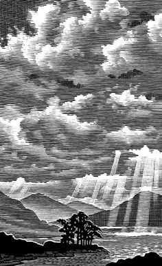Line Art 2 by Bill Sanderson, via Behance