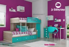 Cama Tren S45c La Valenzina Infantil Y Juvenil Babymovil - $ 13.999,00 en MercadoLibre