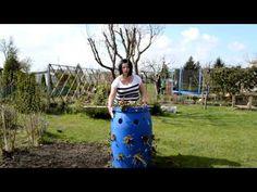 Jak uprawiać truskawki w beczce | www.Kasia.in - YouTube