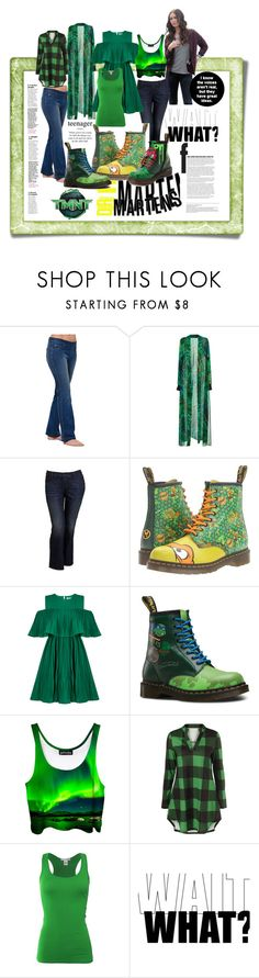 """tmnt docs?.. wait - what?.."" by caroline-buster-brown ❤ liked on Polyvore featuring Elie Saab, Old Navy, Dr. Martens, Jovonna, Bozzolo and UniqueShoes"