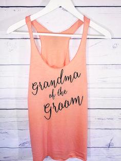 Grandma of the Groom.