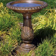 Torrie Classic Birdbath - #7V436 | LampsPlus.com