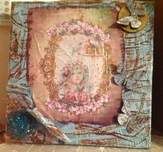 mixed media for girl's room Decorative Items, Vintage World Maps, Mixed Media, Room, Painting, Art, Bedroom, Art Background, Decorative Objects