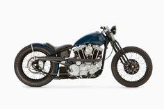Harley-Davidson Sportster Bobber 1976 - The Gasbox #motorcycles #bobber #motos   caferacerpasion.com