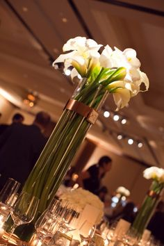 Calla Lilly Centerpieces