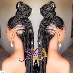 Beautiful braided hair style. Kanyget fashions+