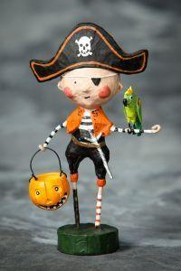 Lori Mitchell Pirate Captain Kidd. Pirate Halloween Costume Boy.