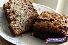 Włoski śniadaniowy chlebek bananowy, banana bread, Nigella Lawson, Nigellissima