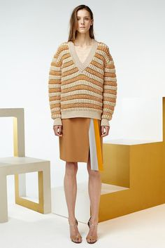 Jonathan Saunders Resort 2015 - Collection - Gallery - Look 1 - Style.com