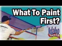 CUTTING CEILINGS. DIY How To Paint A Straight Ceiling Line ...