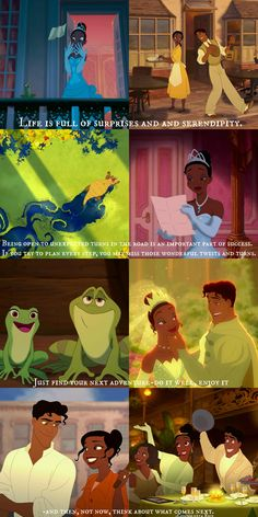 Favorite Princess, by far. She worked hard, did the right thing, and was by far one of the more inspirational princesses :) Walt Disney, Disney Nerd, Disney Memes, Disney Quotes, Disney Cartoons, Disney Love, Disney Magic, Tiana And Naveen, Disney Princess Tiana