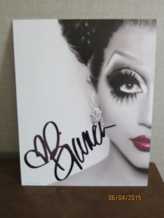 Image of 8x10 Autographed Photo