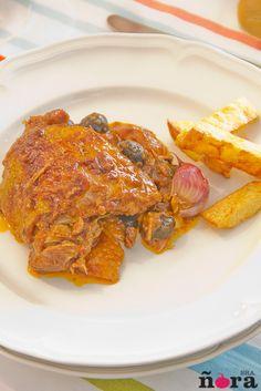 En casa nos gusta mucho la carne del pollo, es sana y no tiene muchas calorías. Además tenemos la oportunidad de comprar unos pollos de campo de la zona de Murcia de muy buena calidad. Hoy …
