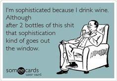 haha 2 bottles? more like 1 bottle... ;] cheap drunks are the best drunks.