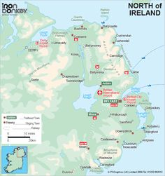 Bicycle Tours Northern North Ireland Bike Touring Cycle Vacations
