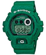 Shop for Casio G-Shock Men's Heathered Digital Multi-Function Chronograph Green Resin Watch Get free delivery On EVERYTHING* Overstock - Your Online Watches Store! Casio G Shock Watches, Seiko Watches, Sport Watches, Cool Watches, Watches For Men, Wrist Watches, Dream Watches, Pocket Watches, Casio G-shock