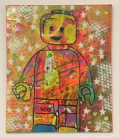 Sweet Melody by Barrie J Davies Mixed media on Canvas, x unframed. Barrie J Davies is an Artist - Psychedelic pop surreal street art inspired Artist based in Brighton England UK - Paintings, Prints & Editions available. Milford Haven, Brighton England, Fine Arts Degree, Human Condition, Mixed Media Canvas, Psychedelic, Surrealism, Pop Art, Street Art