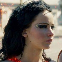 As maquiagens de Katniss Everdeen em Jogos Vorazes (3)