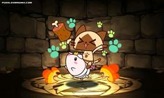 Poogie and Airou stats, skills, evolution, location | Puzzle & Dragons Database