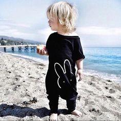 Toddler Infant Baby Boy Girl Kids Rabbit Romper Jumpsuit Bodysuit Clothes Outfit