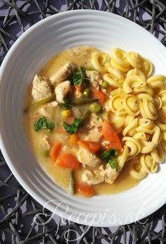 Kuracie soté so zeleninou – Recepis. Nutella, Spaghetti, Food And Drink, Soup, Keto, Pasta, Ethnic Recipes, Mascarpone, Cooking