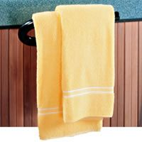 Hot Tub Accessories from spa blankets, pillows, thermometers, handrails & more! Find the perfect addition to your home spa here. Accessoires Spa, Spa Jacuzzi, Hot Tub Accessories, Parasol, Towel Holder, Bar, Cleaning Supplies, Hot Tubs, Towels