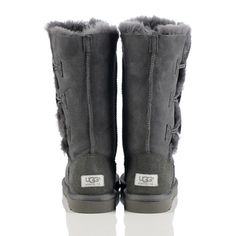 Cheap UGG 1873 Bailey Button Triplet Grey Boots On Sale 2013 Black Friday UGGS