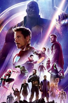 Avengers: Infinity War Official Japanese Poster