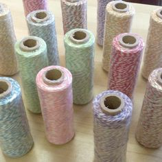 4ply Baker's Twine (100 Yards = 96m) :: Various Colours