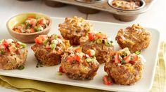 Muffin-Tin Green Chile Meatloaves