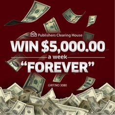 Search Results Pch Com Pch 3080 Winner Ford. Instant Win Sweepstakes, Online Sweepstakes, Forever Life, Winner Announcement, Publisher Clearing House, Winning Numbers, You Are Awesome, Finals, Clams