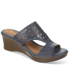 Naturalizer Vanish Platform Wedge Sandals