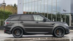 Land Rover Range Rover Sport in Volcanic Satin Grey paint - Project Kahn